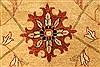 Pishavar Beige Hand Knotted 120 X 1411  Area Rug 250-28508 Thumb 11