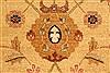 Pishavar Beige Hand Knotted 120 X 1411  Area Rug 250-28508 Thumb 12