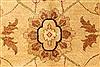 Pishavar Beige Hand Knotted 120 X 1411  Area Rug 250-28508 Thumb 2