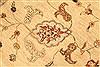 Pishavar Beige Hand Knotted 120 X 1410  Area Rug 250-28509 Thumb 11