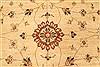 Pishavar Beige Hand Knotted 120 X 1410  Area Rug 250-28509 Thumb 2