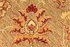 Pishavar Beige Hand Knotted 121 X 174  Area Rug 250-28517 Thumb 12