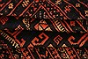 Baluch Black Hand Knotted 29 X 44  Area Rug 253-28525 Thumb 4