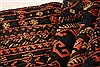 Baluch Black Hand Knotted 29 X 44  Area Rug 253-28525 Thumb 5