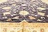 Pishavar Beige Hand Knotted 123 X 147  Area Rug 250-28527 Thumb 4