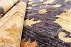 Pishavar Beige Hand Knotted 123 X 147  Area Rug 250-28527 Thumb 7