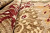 Modern Red Hand Knotted 120 X 151  Area Rug 250-28537 Thumb 6