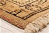 Tabriz Brown Hand Knotted 69 X 910  Area Rug 100-28538 Thumb 1