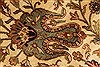 Kashan Beige Hand Knotted 1111 X 152  Area Rug 250-28545 Thumb 11