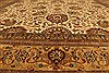 Kashan Beige Hand Knotted 1111 X 152  Area Rug 250-28545 Thumb 4