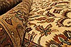 Kashan Beige Hand Knotted 1111 X 152  Area Rug 250-28545 Thumb 7