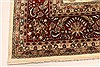 Tabriz Beige Hand Knotted 119 X 150  Area Rug 250-28566 Thumb 11
