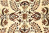 Tabriz Beige Hand Knotted 119 X 150  Area Rug 250-28566 Thumb 1