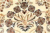 Tabriz Beige Hand Knotted 119 X 150  Area Rug 250-28566 Thumb 9