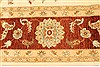 Ziegler Beige Hand Knotted 120 X 157  Area Rug 250-28574 Thumb 3