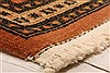 Tabriz Brown Hand Knotted 67 X 93  Area Rug 100-28585 Thumb 7