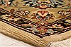 Tabriz Beige Hand Knotted 62 X 90  Area Rug 253-28589 Thumb 6