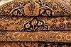 Tabriz Brown Hand Knotted 69 X 99  Area Rug 100-28595 Thumb 4