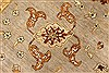 Ziegler Beige Hand Knotted 121 X 154  Area Rug 250-28596 Thumb 11
