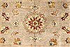 Ziegler Beige Hand Knotted 121 X 154  Area Rug 250-28596 Thumb 2