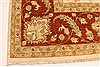 Ziegler Beige Hand Knotted 120 X 153  Area Rug 250-28598 Thumb 1