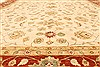 Ziegler Beige Hand Knotted 120 X 153  Area Rug 250-28598 Thumb 4