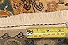 Tabriz Orange Hand Knotted 511 X 811  Area Rug 253-28602 Thumb 4