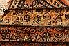 Tabriz Orange Hand Knotted 64 X 91  Area Rug 100-28606 Thumb 4