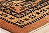 Tabriz Orange Hand Knotted 64 X 91  Area Rug 100-28606 Thumb 6