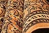 Tabriz Orange Hand Knotted 67 X 96  Area Rug 100-28615 Thumb 2