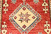 Kazak Red Hand Knotted 35 X 53  Area Rug 250-28623 Thumb 2