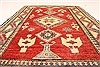 Kazak Red Hand Knotted 35 X 53  Area Rug 250-28623 Thumb 4