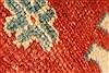 Kazak Orange Hand Knotted 39 X 59  Area Rug 250-28624 Thumb 10