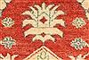 Kazak Orange Hand Knotted 39 X 59  Area Rug 250-28624 Thumb 11