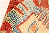 Kazak Orange Hand Knotted 38 X 53  Area Rug 250-28625 Thumb 9