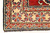 Kazak Red Hand Knotted 38 X 411  Area Rug 250-28630 Thumb 1