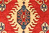 Kazak Red Hand Knotted 38 X 411  Area Rug 250-28630 Thumb 2