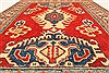 Kazak Red Hand Knotted 38 X 411  Area Rug 250-28630 Thumb 4