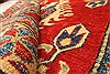 Kazak Red Hand Knotted 38 X 411  Area Rug 250-28630 Thumb 7
