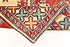 Kazak Red Hand Knotted 35 X 54  Area Rug 250-28631 Thumb 6