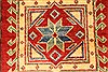 Kazak Red Hand Knotted 34 X 57  Area Rug 250-28646 Thumb 8