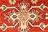Kazak Orange Hand Knotted 38 X 411  Area Rug 250-28648 Thumb 10