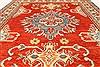 Kazak Orange Hand Knotted 38 X 411  Area Rug 250-28648 Thumb 4