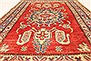 Kazak Red Hand Knotted 36 X 50  Area Rug 250-28649 Thumb 4