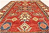 Kazak Red Hand Knotted 41 X 510  Area Rug 250-28650 Thumb 4