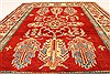 Kazak Red Hand Knotted 35 X 56  Area Rug 250-28652 Thumb 4
