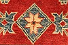 Kazak Red Hand Knotted 38 X 52  Area Rug 250-28653 Thumb 10