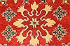 Kazak Red Hand Knotted 38 X 52  Area Rug 250-28653 Thumb 2