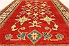 Kazak Red Hand Knotted 38 X 52  Area Rug 250-28653 Thumb 4