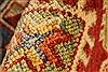 Kazak Orange Hand Knotted 36 X 67  Area Rug 250-28656 Thumb 8